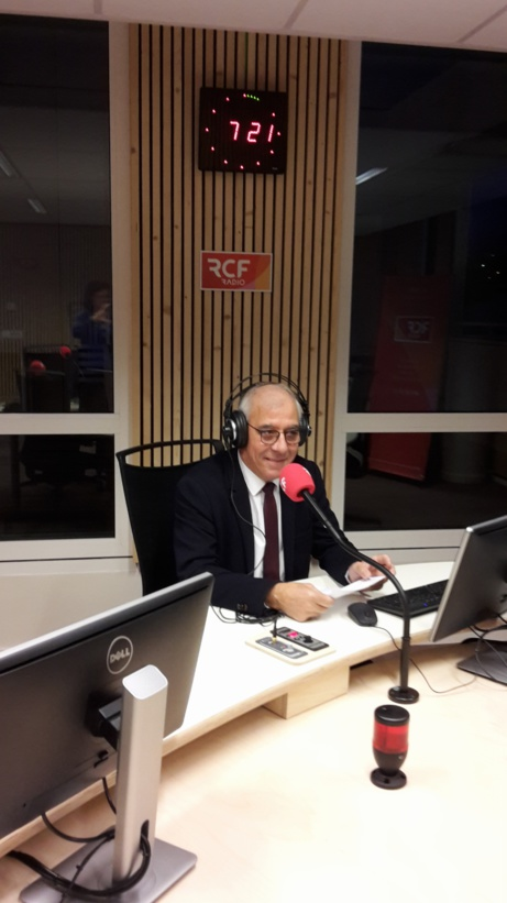 Intervention de René Martinez sur les ondes de la radio RCF