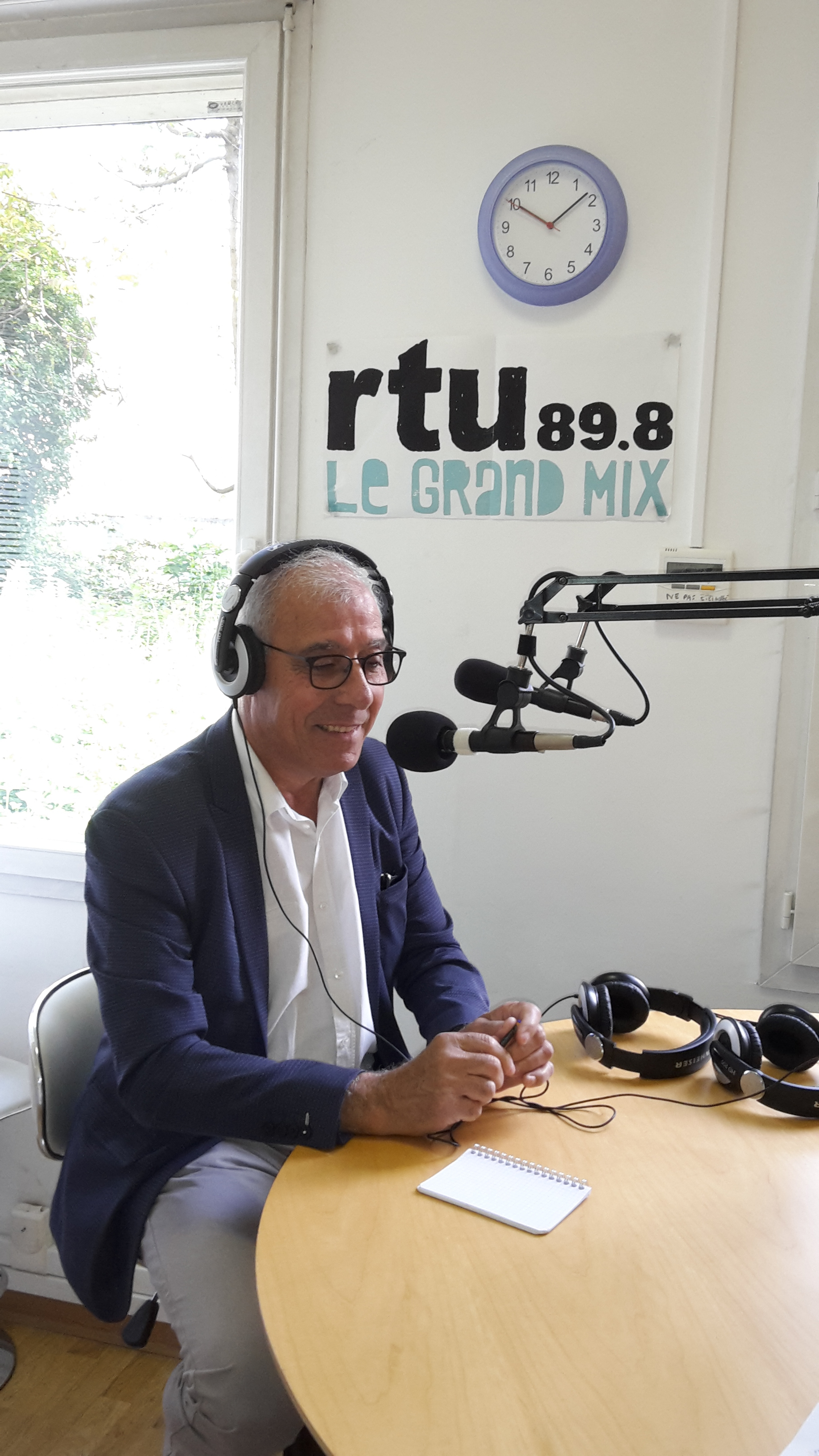 Interview de M. Martinez à la radio lyonnaise RTU