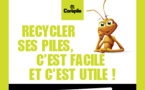 Je recycle mes piles !